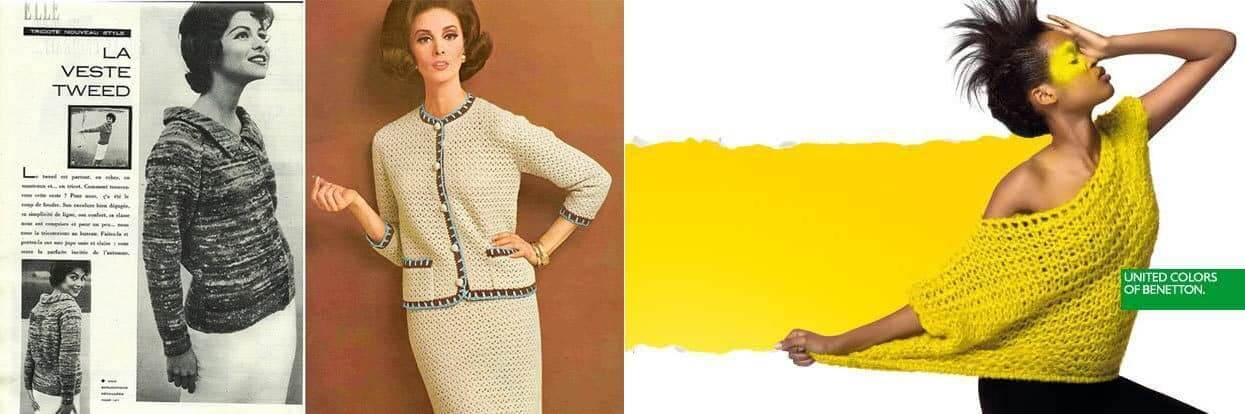 Tricot e le prime apparizioni nella moda